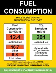 toyota prius petrol consumption fuel consumption label green vehicle guide