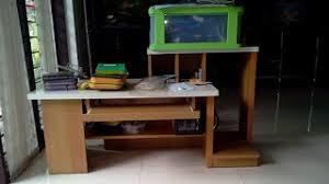 desain meja lesehan desain meja komputer olympic klasik dan awet harga furniture terbaru