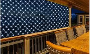 Outdoor Net Lights Led Solar Net Lights Decor Outdoor Wedding Decor Groupon