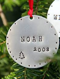 personalized christmas ornament childrens christmas ornament
