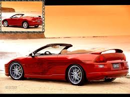 modified 2000 mitsubishi eclipse view of mitsubishi eclipse spyder gt photos video features and