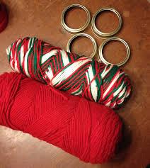 ornaments with yarn yarn ornaments all