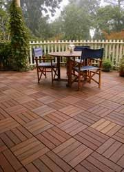 Concrete Patio Pavers by Wood Composite Patio Pavers Can Go Over An Existing Concrete