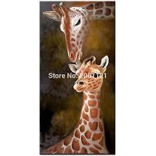 Giraffe Home Decor by Popular Giraffe Artwork Buy Cheap Giraffe Artwork Lots From China