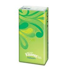 kleenex balsam tissues pocket pack at wilko