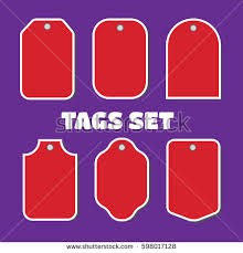 sale gift cards price tags gift cards vector tags stock vector 598017128