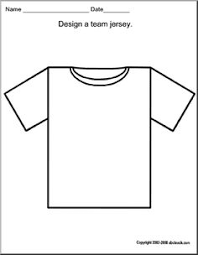 free baseball jersey template large shapes and templates