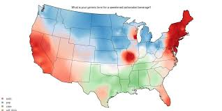 map of american how americans pronounce words differently by region business insider