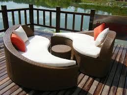 Patio Furniture Sectional - outdoor patio furniture sectional u2014 jen u0026 joes design best