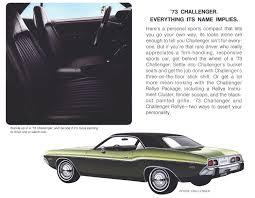 Dodge Challenger 1973 - dodge ads cartype