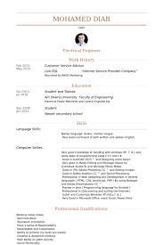 customer service advisor resume samples visualcv resume samples