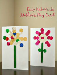 easy mother u0027s day card kids can make craft activities and