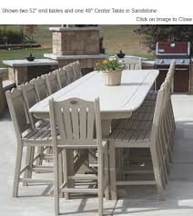 Expandable Patio Table Outdoor Poly Furniture Choice Furniture Expandable Dining