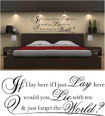 if i lay here vinyl wall art stickers custom designscustom designs if i lay here vinyl wall art stickers