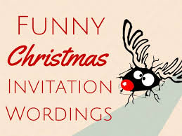 Funny Christmas Party - party invitations terrific funny christmas party invitation