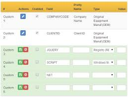 Bootstrap Table Example Jquery Editable Data Table With Custom Fields Free Jquery Plugins