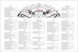 Wedding Seat Chart Template Sample Chart Templates Free Wedding Seating Chart Template Excel