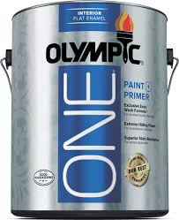 Interior Flat Paint Interior Paint Olympic One
