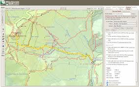 Appalachian Trail Massachusetts Map by Knightway 2013 March