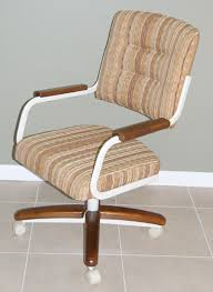 Kitchen Chairs With Rollers by Kitchen Chairs Rolling Casters Dining Chairs