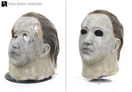 michael myers mask original prop restoration tom spina designs