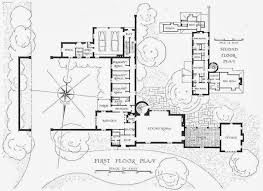 chapin residence lake forest by h t lindeberg floorplans