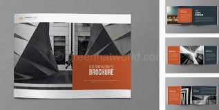 architecture brochure templates free download 25 psd brochure