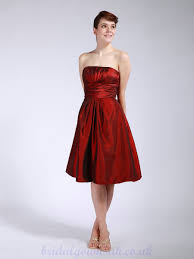 wholesale bridesmaid dresses buy cheap pleated taffeta burgundy wholesale bridesmaid dress