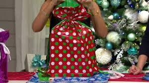 kringle express 64 ez drawstring gift bag set on qvc