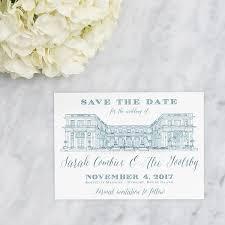 venue sketch save the dates scotti cline designs