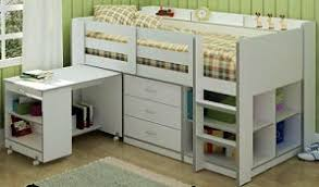 High Sleeper Bed With Futon Cabin Bed With Desk And Futon Roselawnlutheran