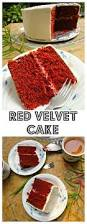 red velvet cake with whipped cream cheese frosting spatula in my