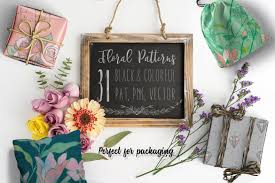 31 floral patterns pack patterns creative market