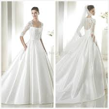boston wedding dress priscilla of boston wedding dress with pockets getswedding