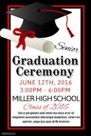 graduation poster graduation poster templates postermywall