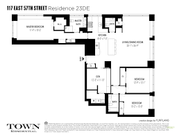 117 east 57th street 23 de town residential