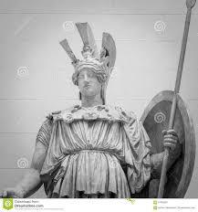 athena the ancient greek goddess statue stock photo image 61658907