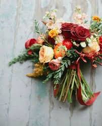 Wedding Flowers Fall Colors - 25 stunningly gorgeous fall bouquets for autumn brides fall