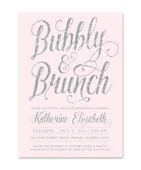 bridal shower brunch invites bubbly brunch bridal shower invitation silver blush pink