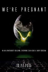 Baby Announcement Meme - alien themed pregnancy announcement rebrn com