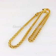 new arrival fashion 24k gp gold plated mens women jewelry cheap real gold plated chains find real gold plated chains deals