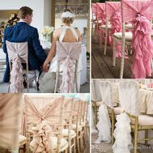 discount ruffle chair sashes 2017 ruffle chair sashes on sale at