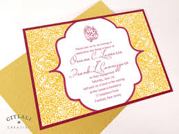 hindu invitation ganesh indian wedding engagement hindu invitations citlali