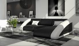 canapé simili blanc canapé d angle design lumineux en simili cuir wilton gdegdesign
