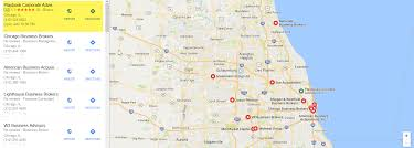 Chicago Il Map Google My Business Maps U2013 Increasing Your Business Brokerage Ranking