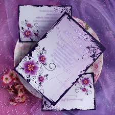 purple wedding invitations purple invitations dickybird designs