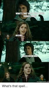 Vertical Meme Generator - what s that that makes things come accio accio hermione