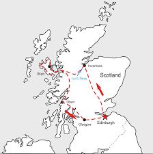 Map Of Glasgow Scotland Focrates