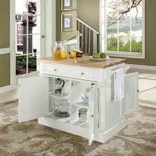 kitchen island block butcher block cutting board top kitchen island in white finish
