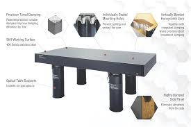 vibration isolation table used optical tables